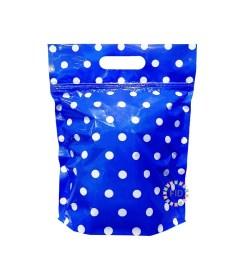 Bolsa con Cierre Hermético Azul