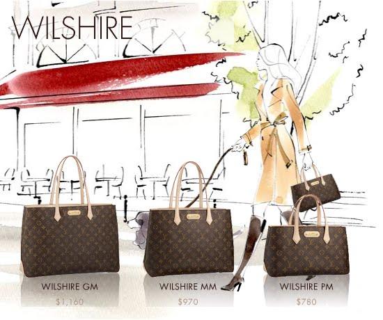 vuitton wilshire