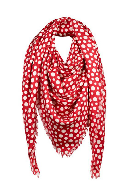 Scarves Vuitton Kusama