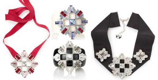 Atelier Swarovski jewellery created in honour of Diana Vreeland