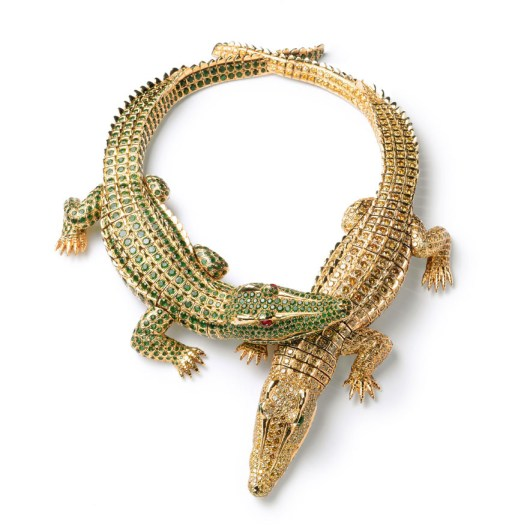 Crocodiles Cartier Paris, 1975