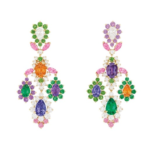 Dear Dior tanzanite earrings