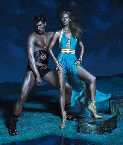 Kate Moss for Versace SS 2013