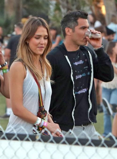 Jessica Alba Coachella