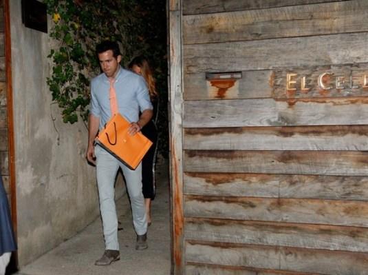 Blake Lively y Ryan Reynolds en Celler Can Roca