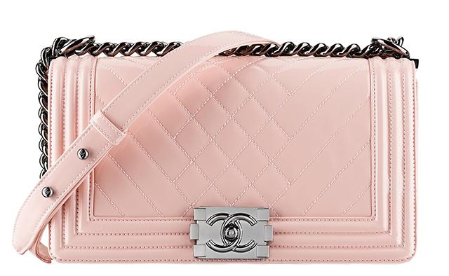 Chanel-Patent-Boy-Bag-Pink
