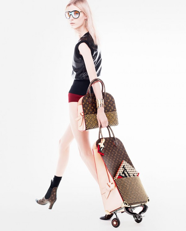 Louis-Vuitton-Celebrating-Monogram-Ad-Campaign-Christian-Louboutin-600x746