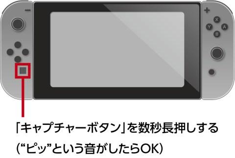 任天堂Switchの本体だけでゲーム画面を録画する方法
