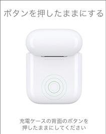 AirPodsのリセット方法
