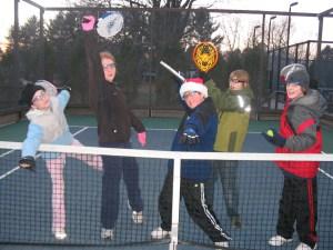Junior Platform Tennis