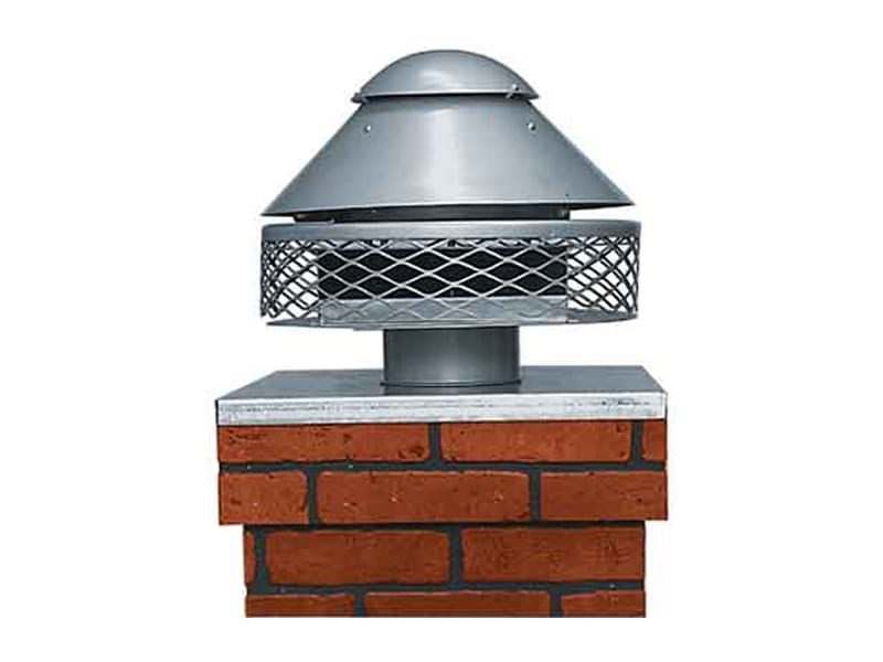 type c chimney top draft inducers