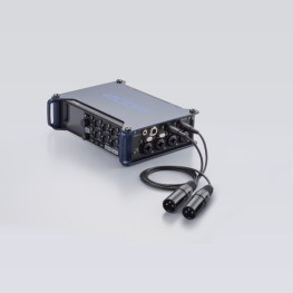Zoom F8 TA-3 XLR Anschluss (Fotos: Zoom Corporation)