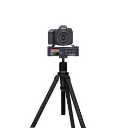 Zoom F8 mit DSLR Kamera (Fotos: Zoom Corporation)