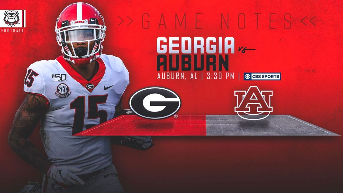 Uga Football Game Notes Georgia Renews Deep South S Oldest Rivalry With Auburn Field Street Forum