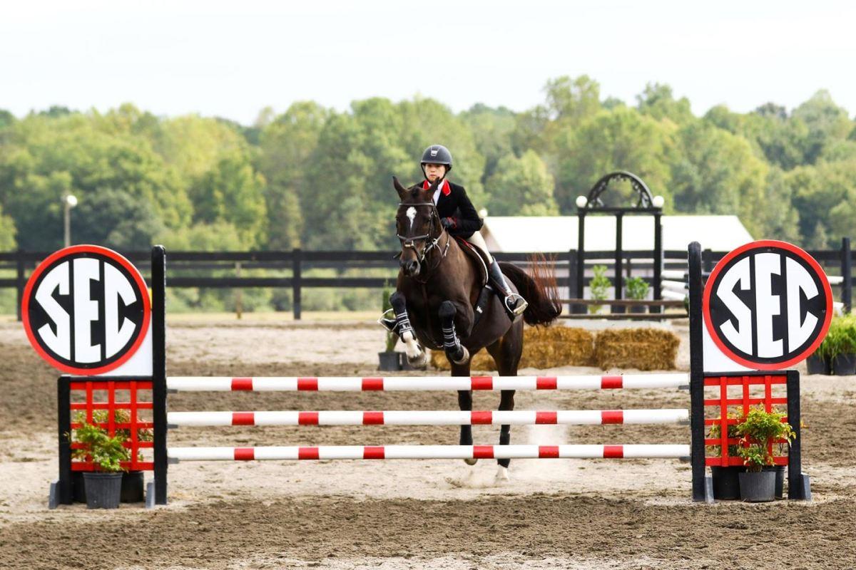 Uga Women S Equestrian No 3 Georgia Takes On No 1