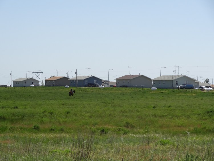 Low-income housing on Standing Rock Indian Reservation