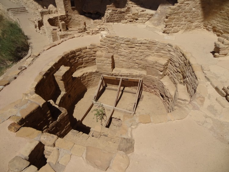 A kiva of the Ancestral Puebloans