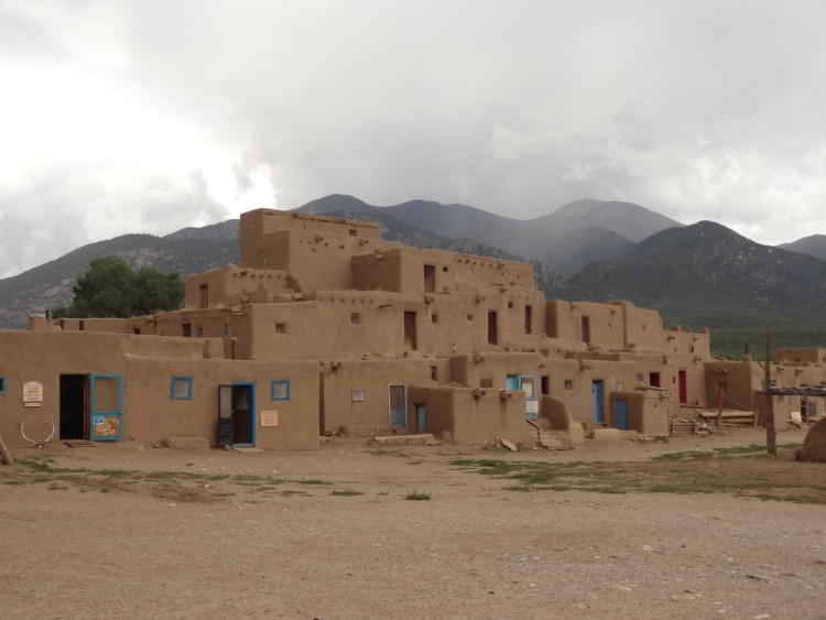 View of Taos Pueblo