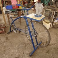 Pedal-powered bicycle machines of Maya Pedal