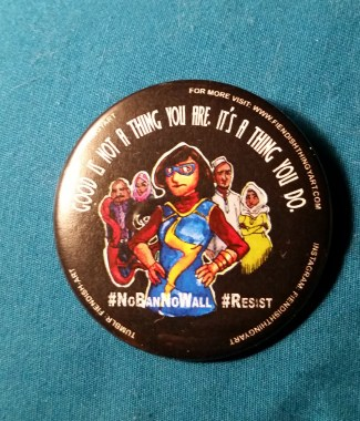 Kamala #Resist Button
