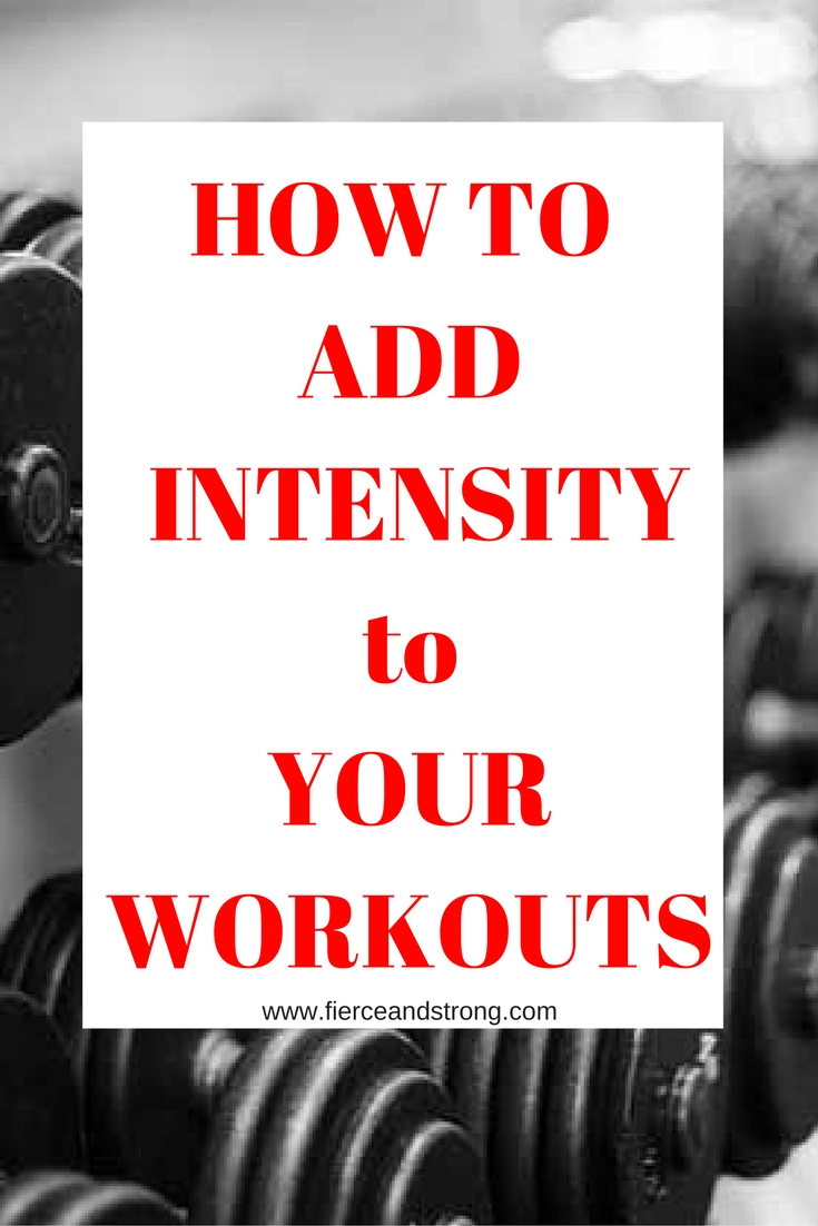 Hit a plateau? Looking for better results? Try these tips to ramp up the intensity of your workouts!