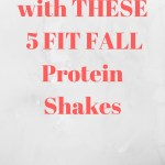 Shake It Up With These 5 Fit Fall Protein Shakes