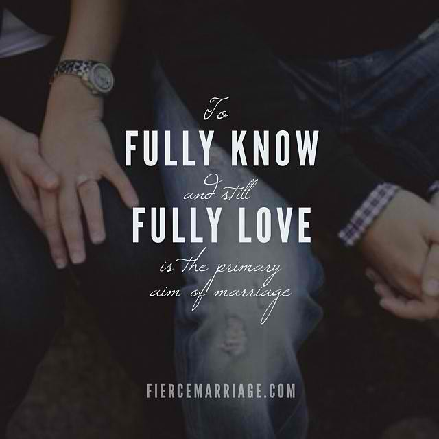 Fully know; fully love image