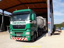 Pièce de chaudronnerie transférée d'une dizaine de km en Isère