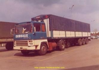 1972, apparition des fameux TR260 attelés aux nouvelles 3 essieux Frueuhauf, esthétiquement, c'est une réussite.