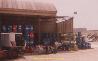 Livraison à la raffinerie AGIP de Siracusa