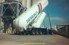Debeaux, Caillet, deux transporteurs disparus