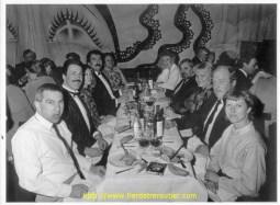 A l'Alcaraz en 1987, à gauche Mr Riand et Bernard Collomb-Muret ......