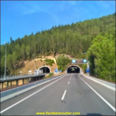 La C25 entre Girona et Vic