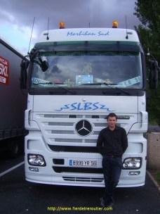 Seb56 avec le Mercedes tout neuf