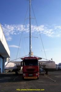 catamaran, 10m de large, 32m de haut, bon d'accord j'ai fait que 200m avec…