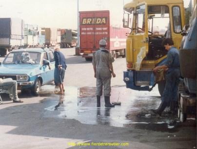 Parking TIR à Tanger