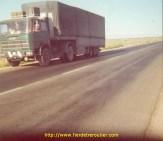 Le FIAT 619 de ABC sur une route Turque.