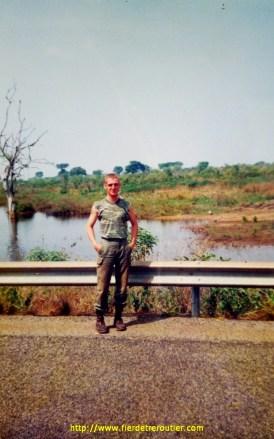 sur les pistes Centrafricaines en 1995