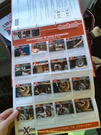 manuel d'utilisation dans le tracteur