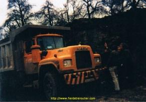 Avec le Mack DM685 des transports Hary 67