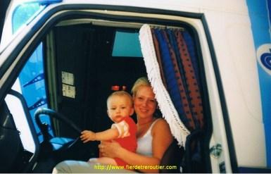 Mon fils Louis et ma belle fille Marylène.