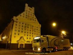 livraison au petit matin, Riga centre