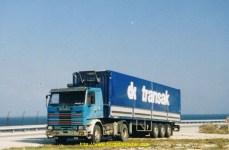 Mon premier camion chez Transak un Scania142