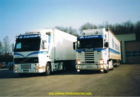 Le FH16.520 et mon 143.500 devant Transak