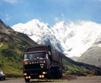 Mon UNIC P270 au Col du Lautaret 05