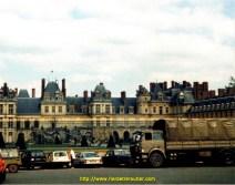 Au chateau de Fontainebleau