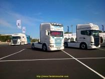 BP TRÄNS chez Scania au GP du Castellet