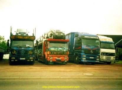 Mon premier, puis 2e camion chez JPB (Au milieu)
