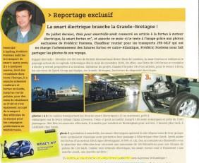 Petit reportage pour la revue smart