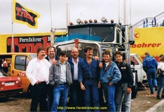 Une bonne équipe au GP du Nurburgring RFA